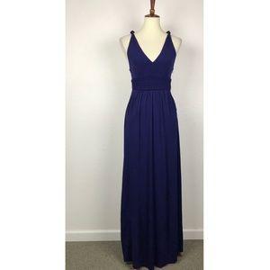 Anthropologie Maeve Yuma Knit Maxi Dress D488